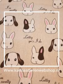 """Hangmat  """"knaagdier"""" .... konijntjes"""