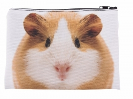 Make up tas /  kleine toilet tas / etui Cavia