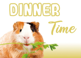 Placemat Cavia Dinner Time Guinea Pig