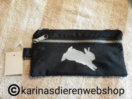 pen etui springend konijn