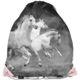 Rugzak Gymtas  Witte Paarden