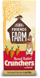 Tiny Friends Farm, Russel Crunchers with Carrot