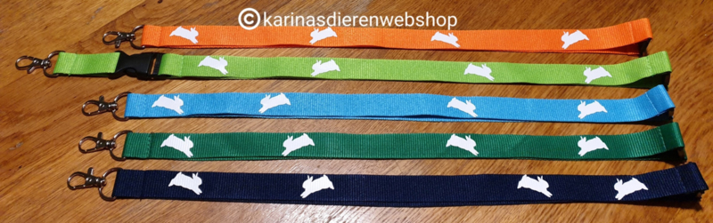 Key cord  springend konijn