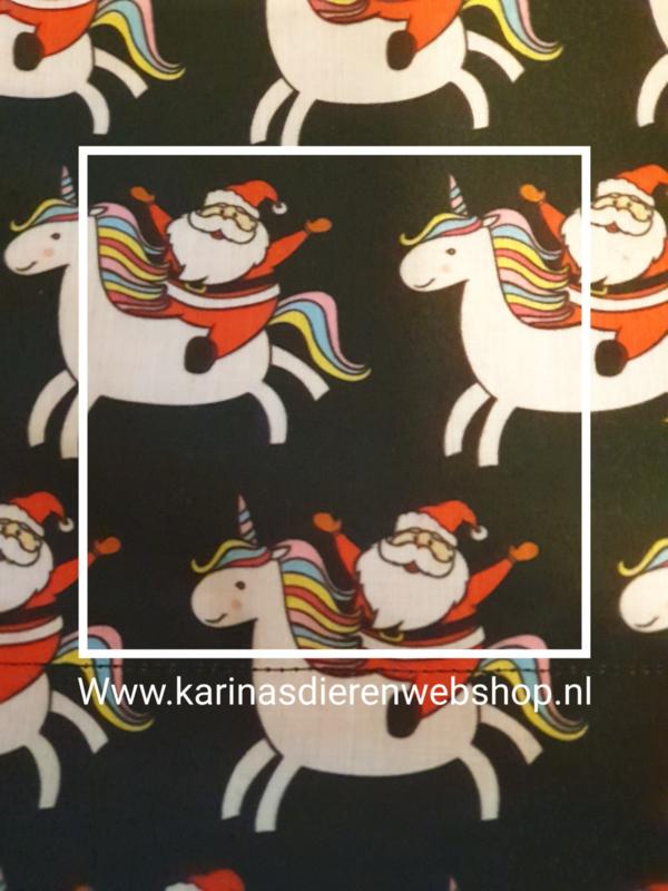 """Hangmat  """"knaagdier"""" .... Kerstman op eenhoorn"""