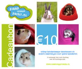 Cadeau bon 10 euro