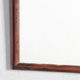 Antieke spiegels / Soester spiegel zonder kroon ca. 1900 notenhout (No.582613)