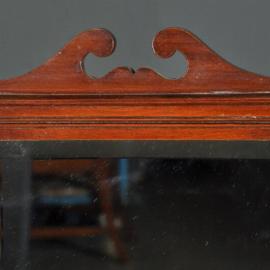 Antieke kasten / Edwardian scheerkastje of badkamerkastje ca. 1910 in mahonie met kantelspiegel (No.402557)