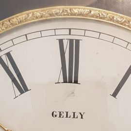 Antiek varia / Grote Franse Boulle klok ca. 1870 Gelly a Perpignan met garantie (No-661104)