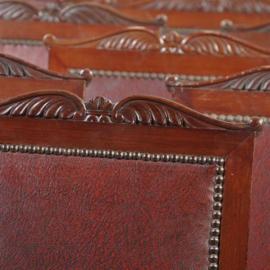 Antieke stoelen / Stel van 20 stoelen second empire ca. 1870 in mahonie stoffering naar wens (No.411564)