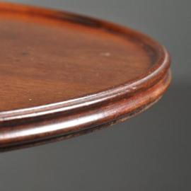 Antieke bijzettafels / Ronde stomme knecht met 3 bladen én 3 laden ca. 1820 (No.380961)