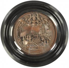 Antiek Varia /  Antiek is actueel: 30 november 1863 Jubileum plaquette in brons ter viering van 50 jaar Nederland  (No.131863)