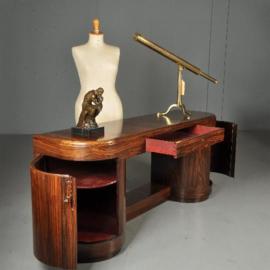 Antieke kasten / Vrijstaand en transparant dressoir of sideboard in palissander  ca. 1915 (No.460247)