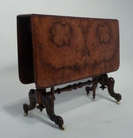 Antieke bijzettafel / Victoriaanse sutherland  ca. 1860 (No.86416)
