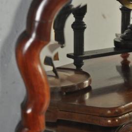 Antieke spiegels / Grote mahoniehouten Soesterspiegel van ca. 1830 (No.200259)
