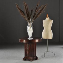 Antieke bijzettafels / Wijntafels / Drankkastje / Dranktafeltje / Barretje art deco ca. 1925 palissander met mahonie (No.460245)