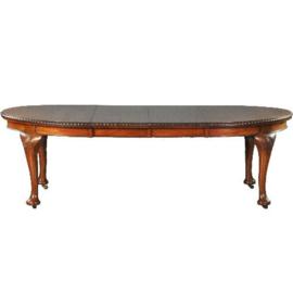 Antieke tafels / Windout - Chippendale stijl eetkamertafel (No. 532125)