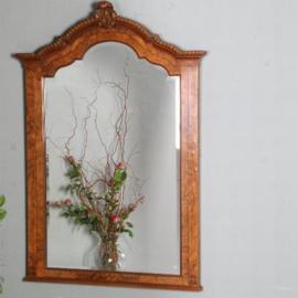 Antieke spiegels / Shouwspiegel in wortelnoten met facet, Pander ca. 1905 (No.481842)