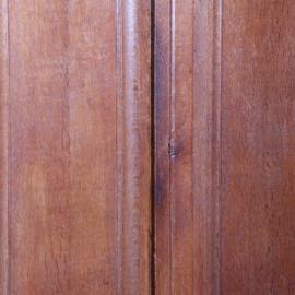 Antieke kasten / Drentse Pastoorskast in eikenhout ca. 1700 op bolpoten (No.610952)