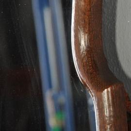 Antieke spiegels / Soester spiegel ca. 1900 met gestoken afneembaar kroon (No.2721664)