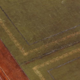Antieke bureaus / Schrijftafel 3.10 m. lang ca. 1860 mahonie met leer plaats voor 12 personen (No.632714)