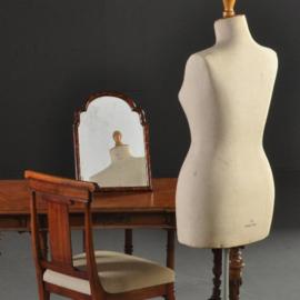 Antieke spiegels / Schildpad kapspiegel / wandspiegel ca. 1790 facet geslepen (No.300757)