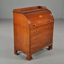 Antieke bureaus / klein zeer fraai damesbureau ca. 1875 in mahonie (No.391352)