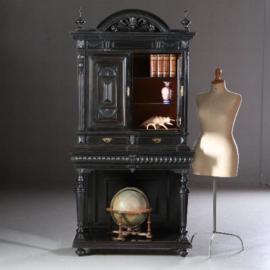Antieke kasten  / Credenskast of rariteitenkabinet / drankkastje ca. 1875 Hollands (No.610951)