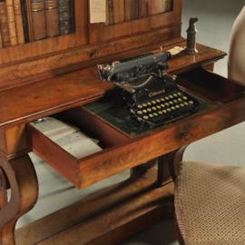 Antieke bureaus / Geen schrijftafel of trumeau maar Bonheur du Jour ca. 1840 mahonie (No.200251)