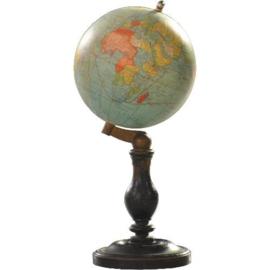 Antiek varia /  kleine wereldbol / Aardglobe Thomas Paris sleets en puur (No.977980)