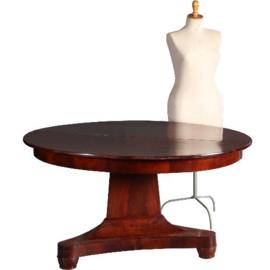 Antieke tafels / Hollandse coulissentafel in mahonie ca. 1820 voor 14 personen (No.640859)