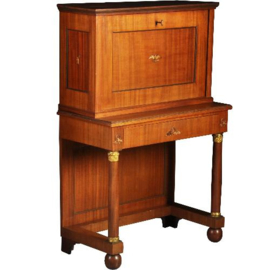 Antieke bureaus / Franse mahonie secretaire in empire stijl ca. 1850 (No.522355)