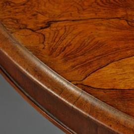 Antieke tafels / Eetkamertafel Tilttop-tabel in fabelachtig palissander ca. 1850 (No.461636)