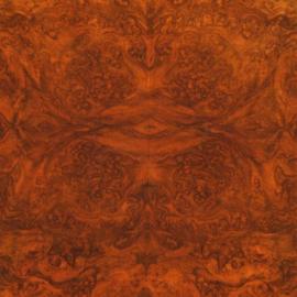Antieke bijzettafels / Wijntafeltje / Tilttoptable ovaal in wortelnoten ca. 1875 (No-353151)