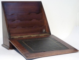 Antiek schrijfkistje / Enveloppenkastje / correspondentiekistje (No98476)