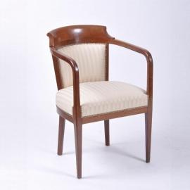 Antieke armstoelen /  Bureaustoelen in art deco ca. 1910 - 3 stuks beschikbaar prijs per stuk (No484009) Verkocht