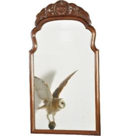 Antieke spiegels / Soester spiegel ca. 1900 met gestoken afnembaar kroon (No.2721664)