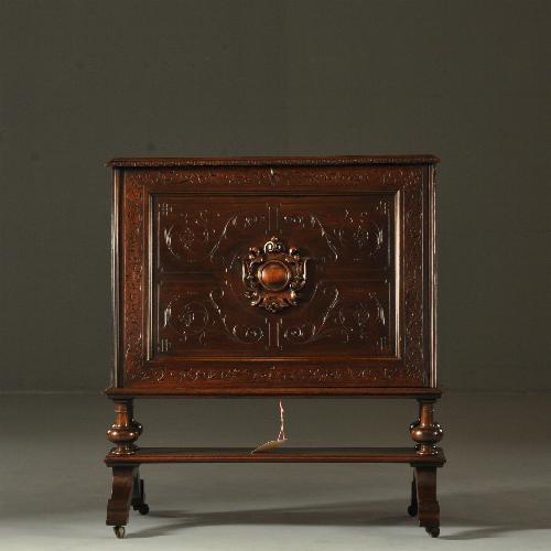 Tv Kast Antiek Art.Antiek Varia Prentenkabinet Ca 1890 Of Portfoliostandard Of