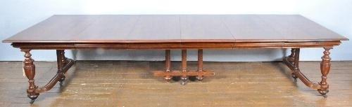 Antieke Uitschuifbare Eettafel.Antieke Tafels Coulissentafel Uitschuifbaar Tot 3 28 M