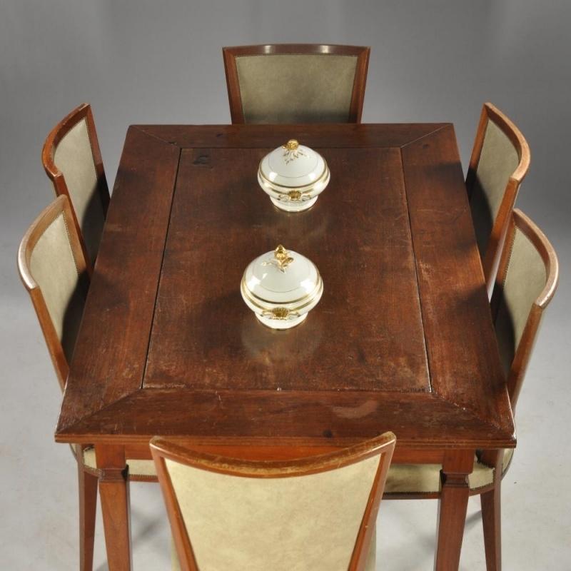 Antieke Tafel Met 6 Stoelen.Antieke Tafels Eetkamertafel Keukentafel Of Toch Een