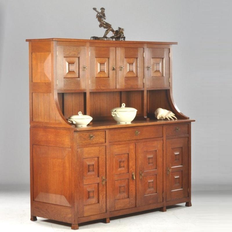 Ongebruikt Antieke kasten / Art Deco buffetkast / servieskast / keukenkast QM-84