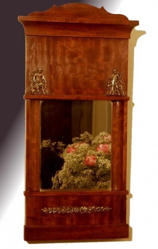 Antieke spiegels / Hollandse spiegel ca. 1825 (No175592)