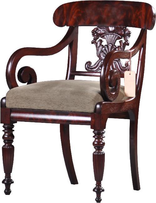 Bureaustoel Zelf Bekleden.Antieke Stoelen Engelse Bureaustoel Armstoel In Mahonie Ca