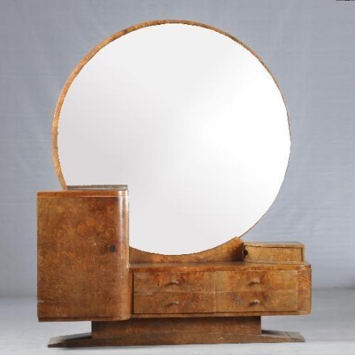 Kaptafel Grote Spiegel.Antieke Kaptafels Magnifieke Art Deco Kaptafel Ca 1925
