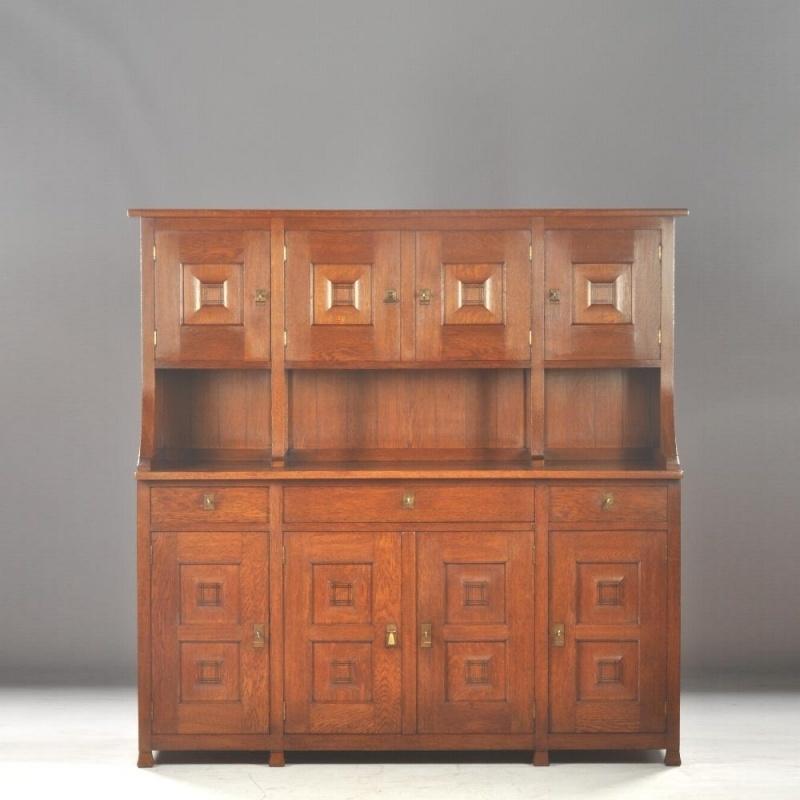 Verrassend Antieke kasten / Art Deco buffetkast / servieskast / keukenkast HJ-97