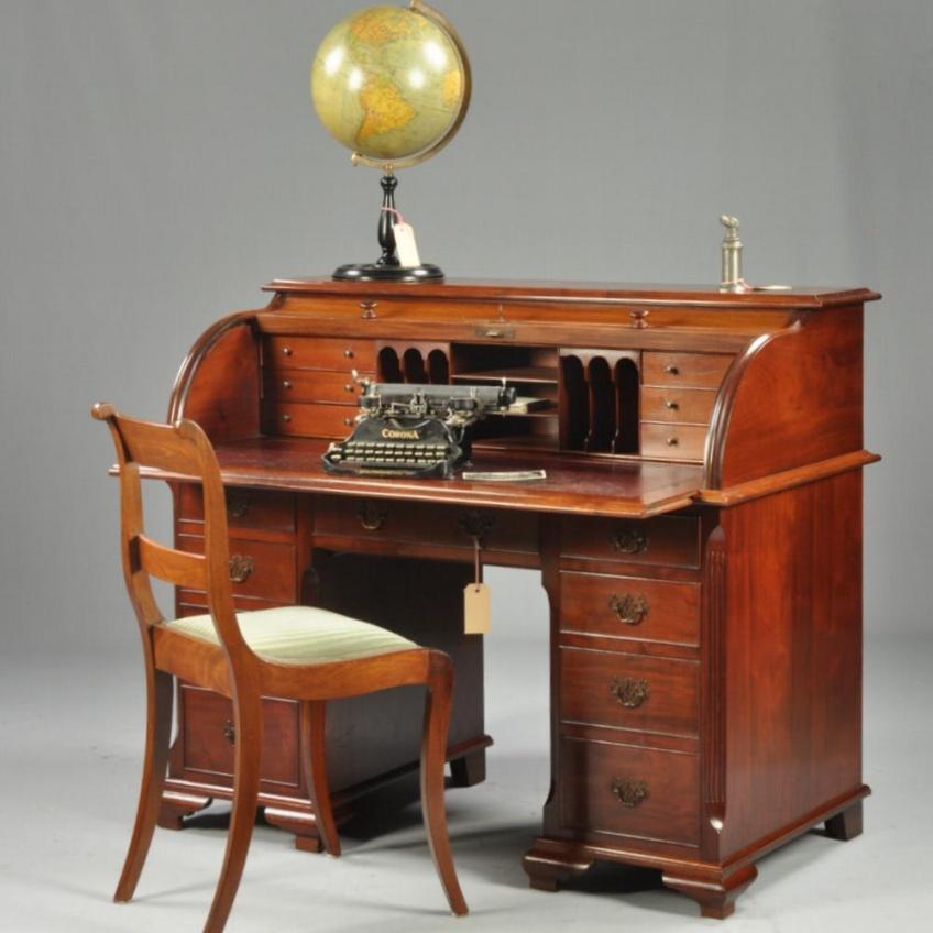 Antiek Bureau Klein.Antieke Stoelen Hollandse Antieke Stoel Ca 1820 Geschikt