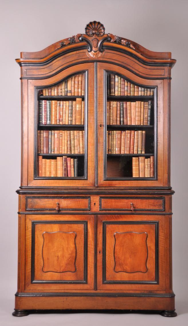 Antieke Kasten Franse Servieskast Boekenkast In