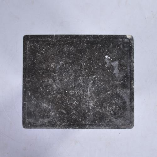 Marmer blad met verdiept vlak