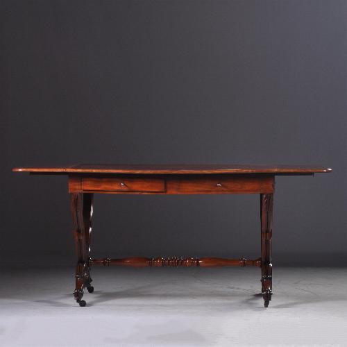 Antieke mahonie schrijftafel