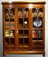 antieke boekenkast mahonie