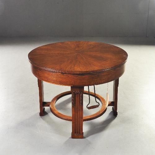 Josef Seiler Ringtisch vergrootbare rondetafel van 111 tot 156